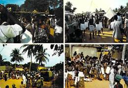 Afrique  TOGO GLIDJI KPODJI (GBATSUME) A L'Heure De La Prise De La Pierre Sacrée ( Photo Studio KAP) *PRIX FIXE - Togo