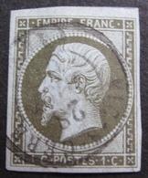 R1606/132 - NAPOLEON III N°11 - CàD De VIC-SUR-CERE (Cantal) Du 28 AOÛT 1861- Voisin Au Nord - Cote : 90,00 € - 1853-1860 Napoleon III