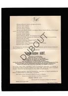 Doodsbrief Dr. Edmond-Gustave Jadot °1848 Binche †1907 Beloeil / Bourgmestre De Beloeil (H22) - Décès