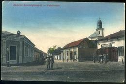 ÉRMIHÁLYFALVA 1910. Régi Képeslap, üzletek, Weisz Lipót - Hongrie