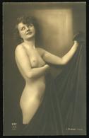 1925. Cca. Akt , Régi Fotó, (  Képeslap Méret ) - Foto