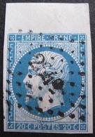 R1606/133 - NAPOLEON III N°14A Avec GRAND BdF - LPC - 1853-1860 Napoleon III
