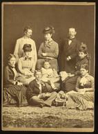 BUDAPEST 1865-70. Licskó J : Ismeretlen Család , Szép Cabinet Fotó  /  BUDAPEST 1865-70 J. Licskó : Unknown Family Nice - Other