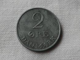 Danemark   2  Ore 1952  Frederik IX   Zinc   Km#840.1     Sup - Danemark