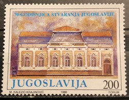 Yugoslavia, 1988, Mi: 2314 (MNH) - Neufs