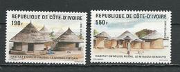 COTE IVOIRE Scott 828-829 Yvert 785-786 (2) ** Cote 8,75 $ 1987 - Côte D'Ivoire (1960-...)