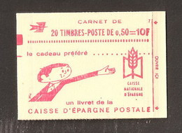 FRANCE  Carnet 1164C2 Mnh ** Fermé Parfait - Carnets