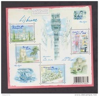 FRANCE / 2009 / Y&T N° 4402/4405 ** En Bloc Ou F4402 ** : BF Capitales : Lisbonne - Gomme D'origine Intacte - Neufs