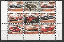 SURINAME - MNH - Transport - Cars - Sport - 2007 - Voitures