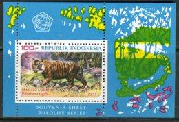 INDONESIE: ZB 911/913 MNH** Blok 30/31 1977 Beschermde Dieren - Indonésie