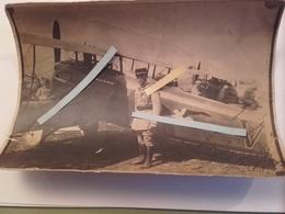 1917 FONCK RENE  SON SPADVII ESCADRILLE DES CIGOGNES L'as Des As Chasse Aviation Photo Dédicacée 14-18 WW1 Tranchee 1WK - Guerra, Militari
