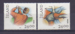 Iceland 1991 Sports Y.T. 702/703 ** - 1944-... Republique