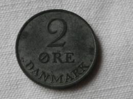 Danemark  2 Ore 1956 Frederik IX    ZINC    Km#840.1      TTB - Danemark