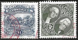 USA 1994 1995 Scott 2590 2592 Used Burgoyne, Washington, Jackson - Etats-Unis