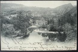 LES BRENETS Gel. 1904 V. La Chaux-de-Fonds Nach Teufen - NE Neuchâtel