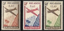 REUNION   1938  -  PA  3 - 4 - 5  -   NEUFS** - Aéreo