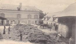 02  VIEIL ARCY .CPA RARETE. LA FERME DE LA MAISON NEUVE. ANNEE 1906 - France
