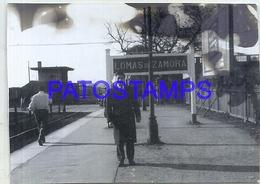105244 ARGENTINA BUENOS AIRES LOMAS DE ZAMORA STATION TRAIN ESTACION DE TREN YEAR 1959 PHOTO NO POSTAL POSTCARD - Photographs