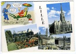 59  LILLE  CPM  MULTI VUE  -  1950 / 60 - Lille