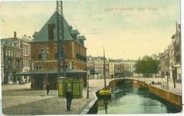 Leeuwarden 1911; De Oude Waag - Gelopen. (Uitgever?) - Leeuwarden