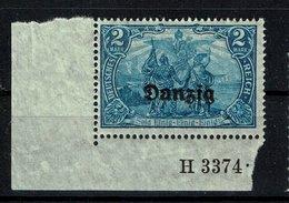 Danzig Michel Nr.: 11 HAN Postfrisch Mit Falz - Dantzig