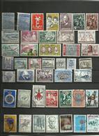 Lot De  43 Timbres De Belgique  Années Diverses. - Postzegels