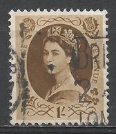 Great Britain 1955. Scott #331 (U) Queen Elizabeth II * - 1952-.... (Elizabeth II)