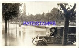 105251 ARGENTINA BUENOS AIRES AUTOMOBILE OLD CAR INUNDACION PHOTO NO POSTAL POSTCARD - Photographs