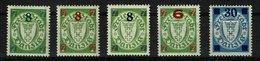 Danzig Michel Nr.: 240 - 242 Postfrisch Mit Falz - Danzig
