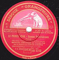 78 Trs - 30 Cm - état TB - LE PRINCE IGOR Prélude Danse Des Jeunes Filles ORCHESTRE SYMPHONIQUE DE PHILADELPHIE - 78 T - Disques Pour Gramophone