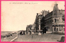 Bray Dunes - Hôtel M. Duquenne - Animée - Edit. MORLION - 1929 - Bray-Dunes