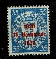 Danzig Michel Nr.: 226 Postfrisch Mit Falz - Danzig