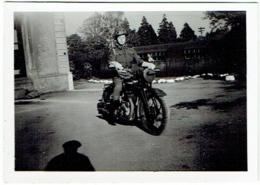 Foto/Photo. Militaria. Moto Et Soldat. Motard. - Krieg, Militär