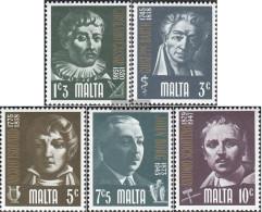 Malta 481-485 (complete.issue.) Unmounted Mint / Never Hinged 1974 People - Malta