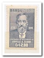 Brazilië 1951, Postfris MNH, 100th Birthday Of Orville A. Derby, Geologist - Brazilië