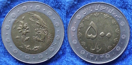 IRAN - 500 Rials SH1382 (2003AD) KM# 1269 Islamic Republic Since 1979 Bi-metallic - Edelweiss Coins - Iran