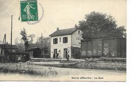 Vosges - 88 - Saulcy Sur Meurthe - La Gare - Autres Communes