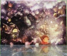 Wise Oak Tale Style Sense Of Wonder Fine Art Modern Russian Postcard By Polina Yakovleva - Trees