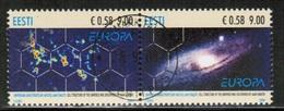CEPT 2009 EE MI 637-38 ESTONIA USED - Europa-CEPT
