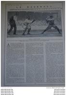 """1911 LE BASEBALL - WAGNER CHAMPION BATTER DES CUBS ( OURSONS ) DE CHICAGO - MEYER - MATHEWSON DES """" GEANTS """" DE NEW YORK - Livres, BD, Revues"""