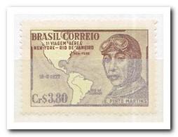 Brazilië 1951, Postfris MNH, First Flight New York-Rio De Janeiro, 1922, By E. Pinto Martins - Brazilië