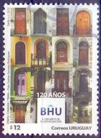 Used Uruguay 2012,120 Years BHU - Mortgage Bank Of Uruguay 1V. - Uruguay