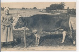 En Sologne - Une Solognote - Coll. ND Phot N° 144 - Vache - France