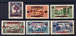 LIBAN - 116/121* - SERIE COURANTE - Grand Liban (1924-1945)