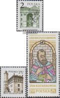 Poland 2692,2705,2712 (complete.issue.) Unmounted Mint / Never Hinged 1980 School, Sandomierz, Kochanowski - 1944-.... République