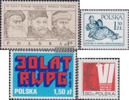 Poland 2611,2624,2625,2626 (complete.issue.) Unmounted Mint / Never Hinged 1979 Krongericht, Peace, COMECON, Kämp - 1944-.... République