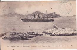 CPA - . MARSEILLE - 41   Les îlettes D'endoume Le Château D'if - Château D'If, Frioul, Islands...
