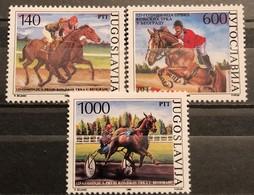 Yugoslavia, 1988, Mi: 2293/95 (MNH) - Horses