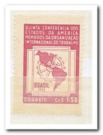 Brazilië 1952, Postfris MNH, Regional Conference Of The International Labor Organization - Brazilië