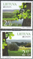 Lithuania 1063-1064 (complete.issue.) Unmounted Mint / Never Hinged 2011 Forest - Lithuania
